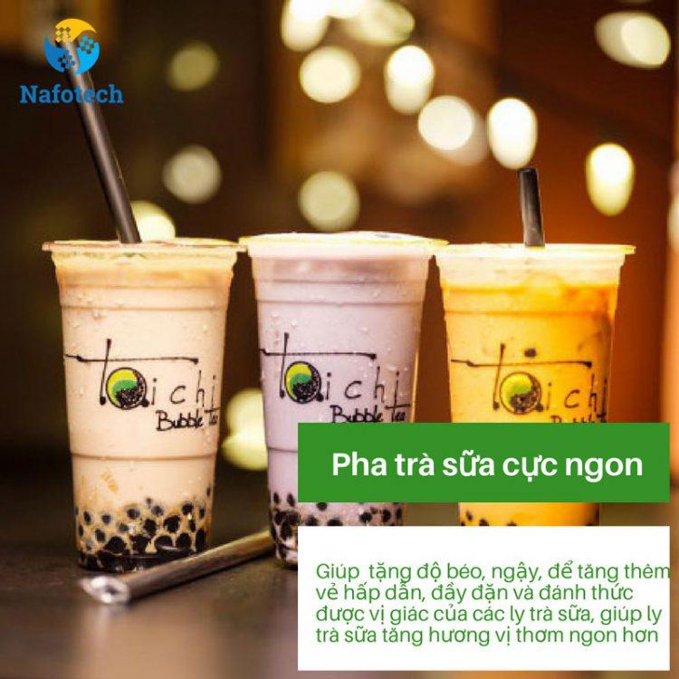 5 công dụng của bột kem béo gây bất ngờ - Pha trà sữa