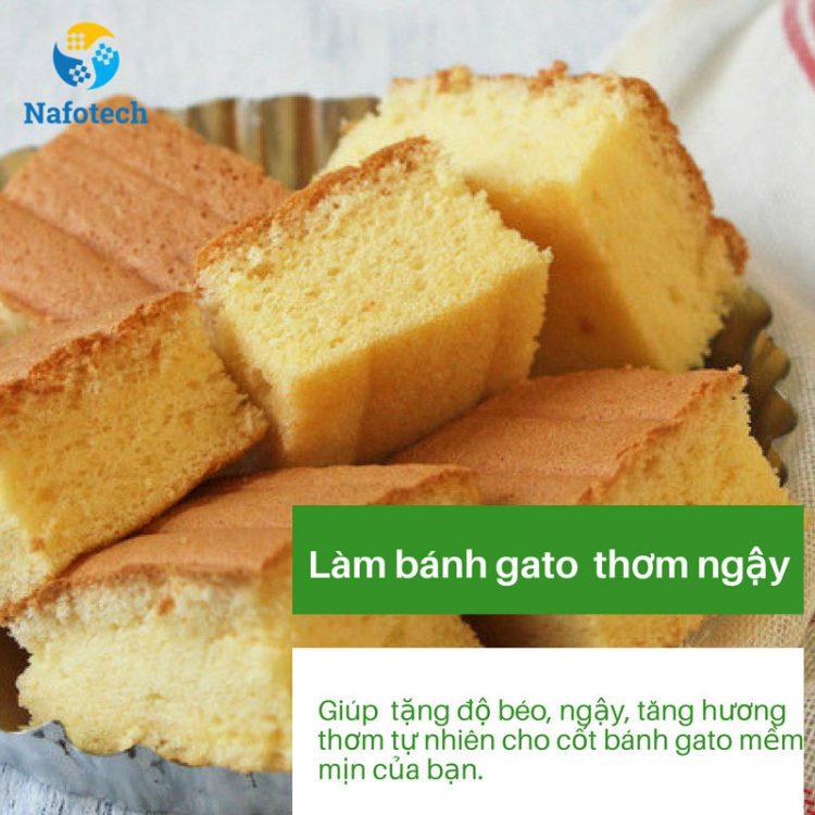 5 công dụng của bột kem béo gây bất ngờ - Làm bánh gato