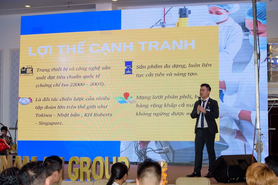 Ông Ngô Xuân Thủy - Phó Tổng Giám đốc Nam An Group nhấn mạnh về chiến lược và mục tiêu phát triển trong năm 2019