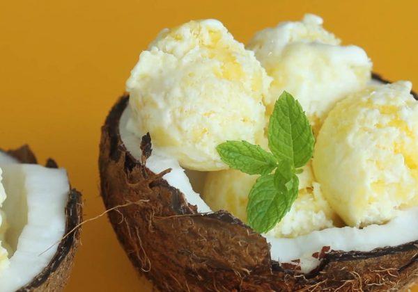 Cách làm kem xoài cực ngon bằng bột làm kem ICEKOOL