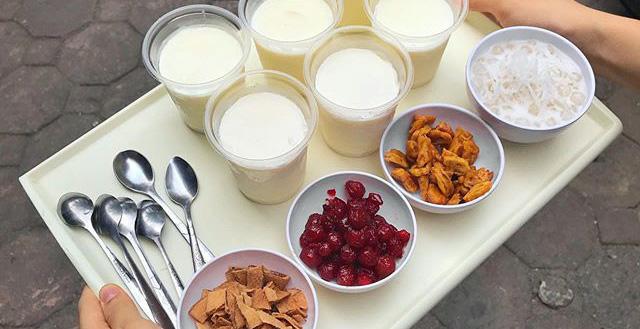 Cách làm sữa chua trân châu Hạ Long