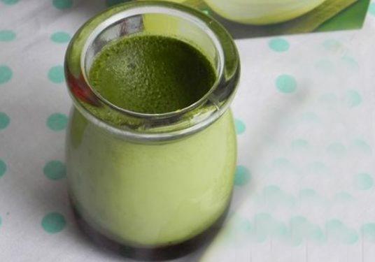 Bật mí cách làm bánh flan vị trà xanh matcha đơn giản