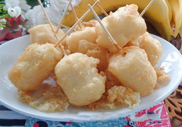 Cách làm chuối chiên nước cốt dừa thơm ngon