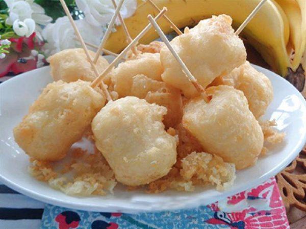 Cách làm chuối chiên nước cốt dừa