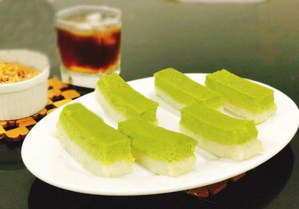 Cách làm xôi nước cốt dừa lá dứa tại nhà