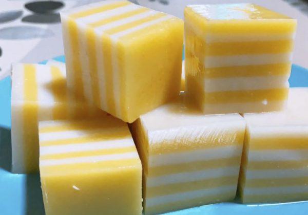 Cách làm thạch rau câu bắp giòn thơm ngon