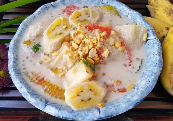 Cách làm chè chuối nước cốt dừa thơm béo tại nhà