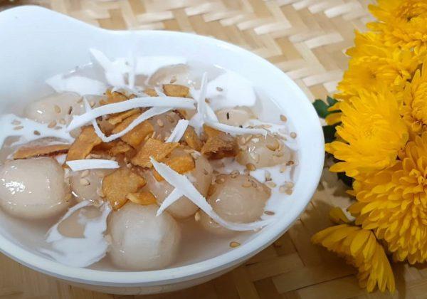 Cách làm chè bột lọc trân châu nước cốt dừa thơm ngon