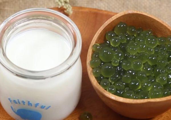 Cách làm thạch trân châu trà xanh matcha tại nhà