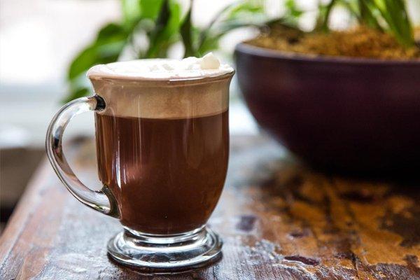 Cà phê sữa đá cacao